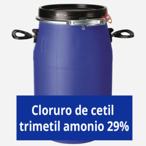 Cloruro de cetil trimetil amonio 29%
