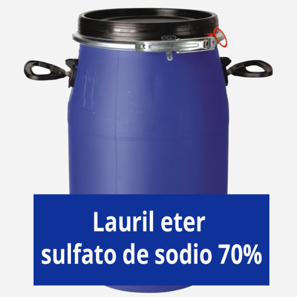 Lauril eter sulfato de sodio 70%